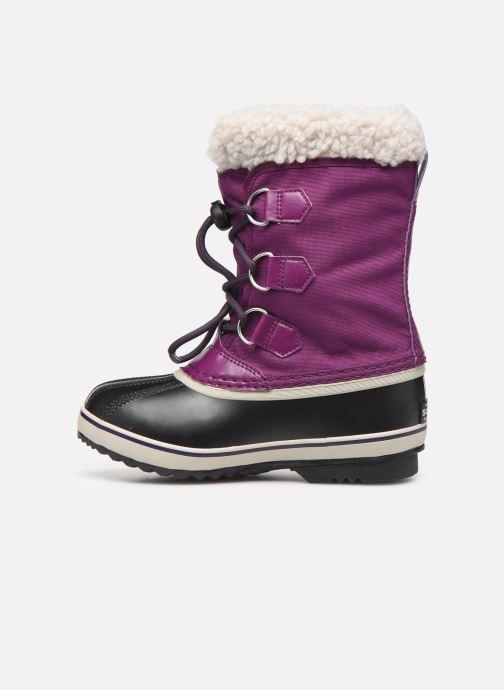 Sport shoes Sorel Yoot Pac Nylon Purple front view