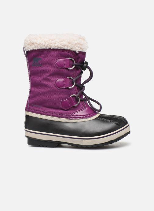 Sport shoes Sorel Yoot Pac Nylon Purple back view