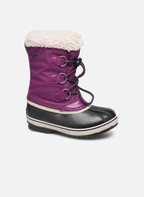 Chaussures de sport Sorel Yoot Pac Nylon Violet vue détail/paire