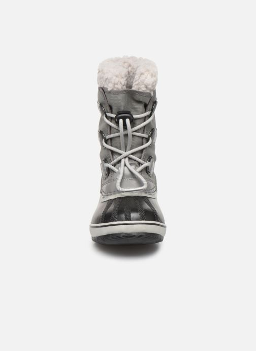 Sportschuhe Sorel Yoot Pac Nylon grau schuhe getragen