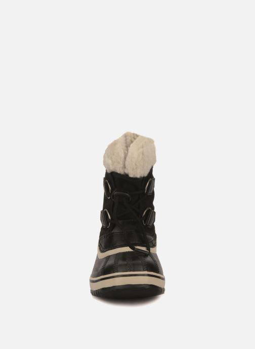Sportssko Sorel Yoot Pac Nylon Sort se skoene på