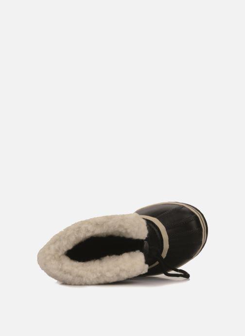 Zapatillas de deporte Sorel Yoot Pac Nylon Negro vista lateral izquierda