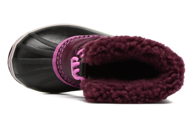 Chaussures de sport Sorel Yoot Pac Nylon Violet vue gauche