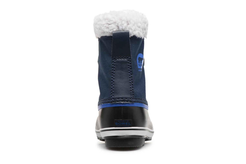 Sportschuhe Sorel Yoot Pac Nylon blau ansicht von rechts