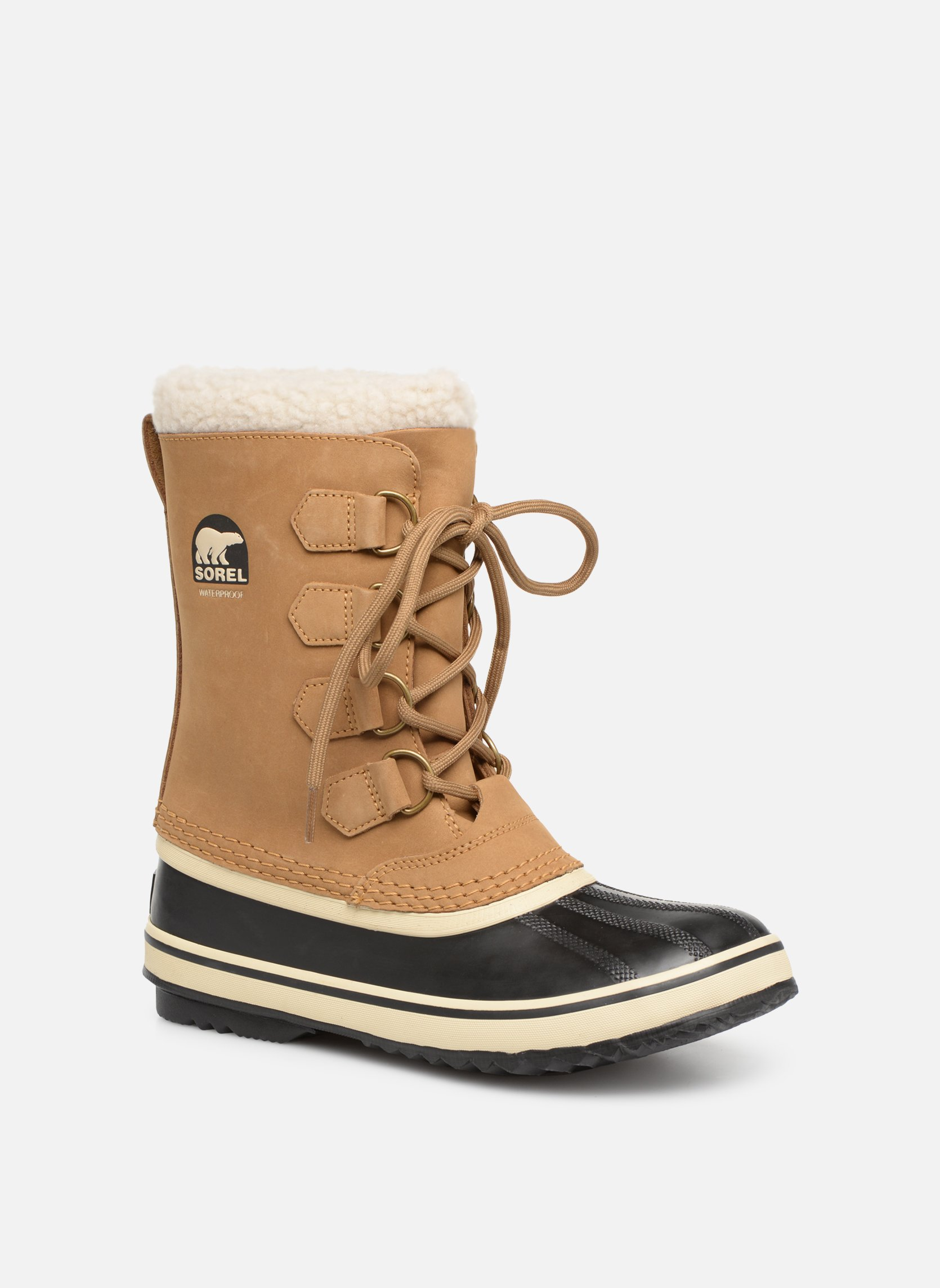 Sport shoes Sorel 1964 pac 2 Beige detailed view/ Pair view