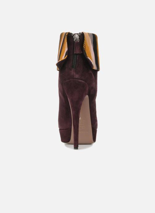 Stiefeletten & Boots Missoni Sitia weinrot ansicht von rechts