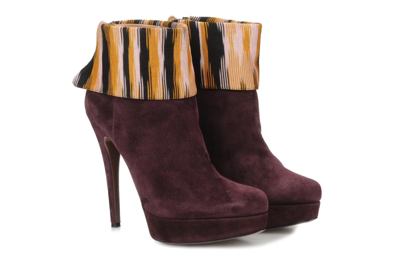 Stiefeletten & Boots Missoni Sitia weinrot 3 von 4 ansichten