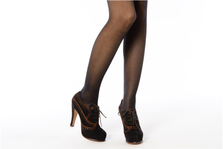 Chaussures à lacets Michel Perry Kavala Marron vue bas / vue portée sac