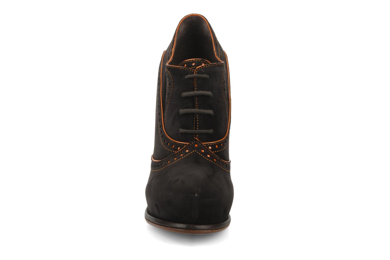 Chaussures à lacets Michel Perry Kavala Marron vue portées chaussures