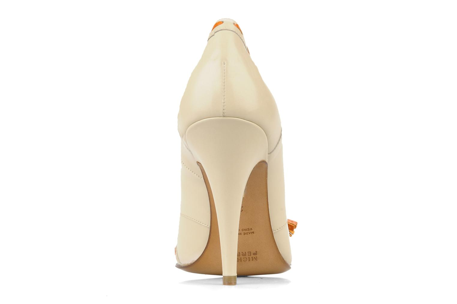 High heels Michel Perry Iraklia Beige view from the right