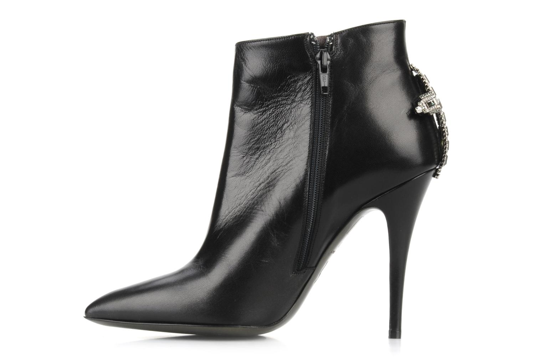 Bottines et boots Ernesto Esposito Kapina Noir vue face