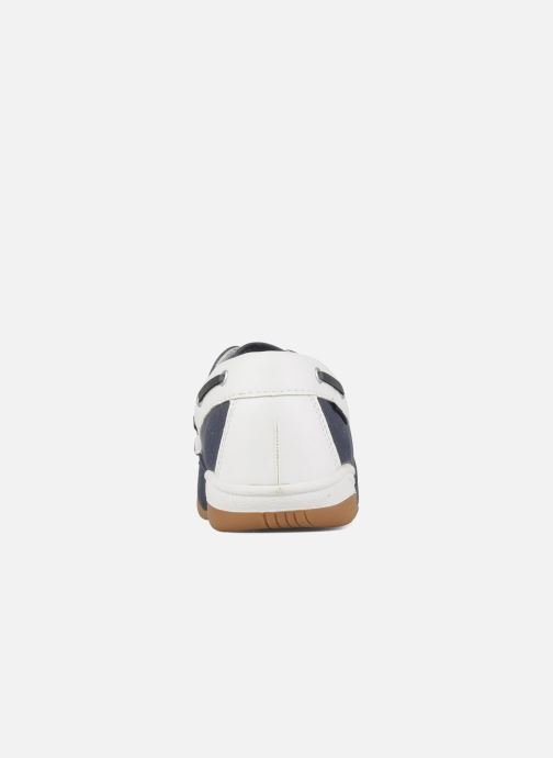 Lace-up shoes Kangaroos Sail Blue view from the right