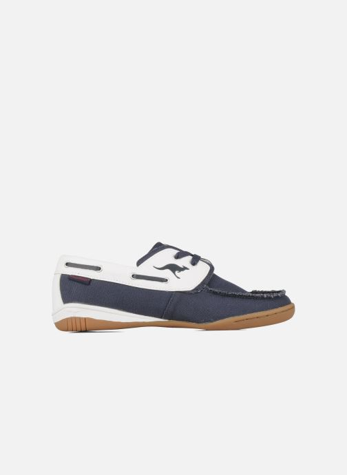 Lace-up shoes Kangaroos Sail Blue back view