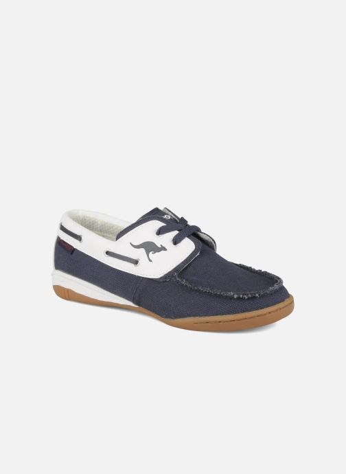Lace-up shoes Kangaroos Sail Blue detailed view/ Pair view