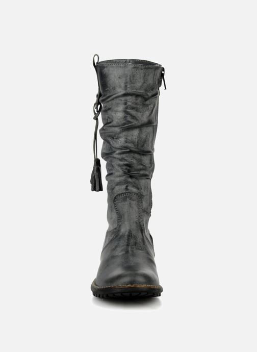 Bottes Stones and Bones Hanna Noir vue portées chaussures