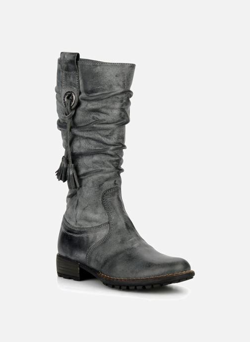 Støvler & gummistøvler Stones and Bones Hanna Sort detaljeret billede af skoene