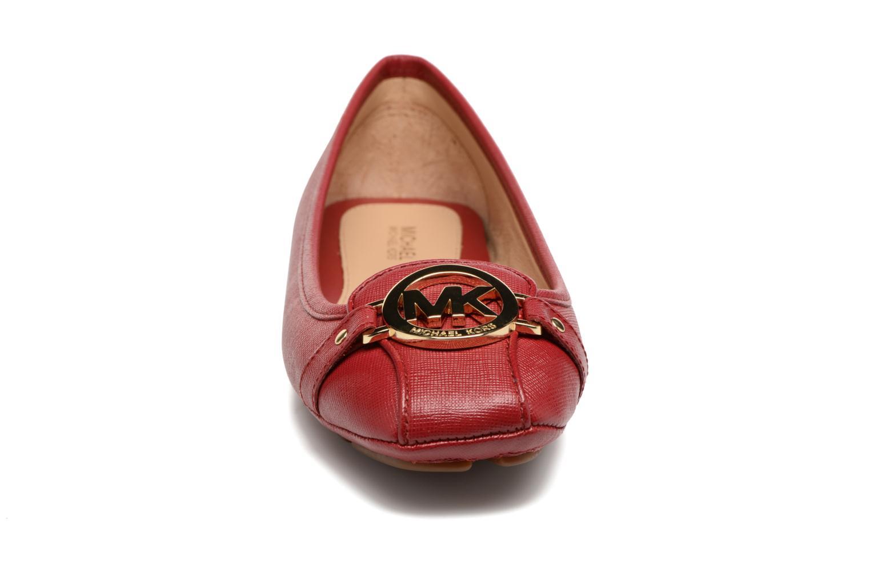 Ballerines Michael Michael Kors Fulton Moc Rouge vue portées chaussures