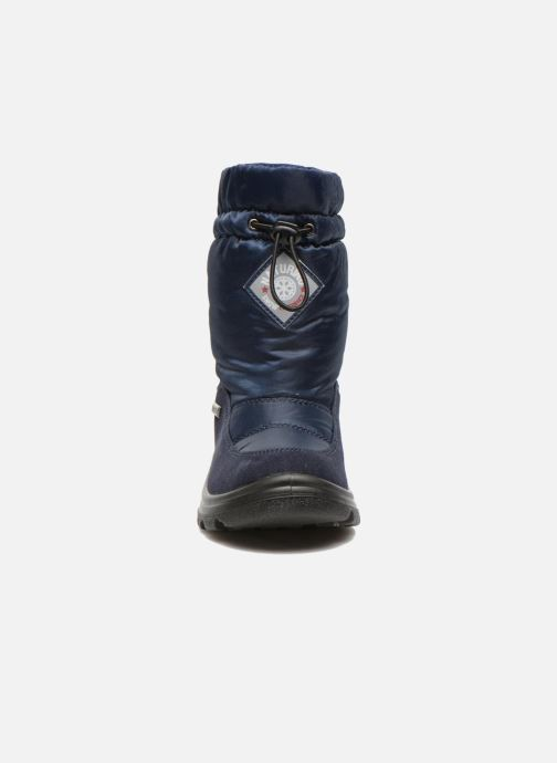 Bottes Naturino Varna Bleu vue portées chaussures