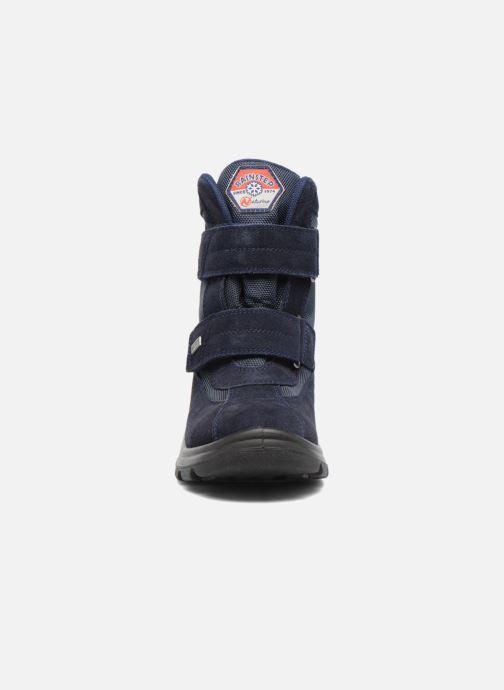 Bottes Naturino Barents Bleu vue portées chaussures