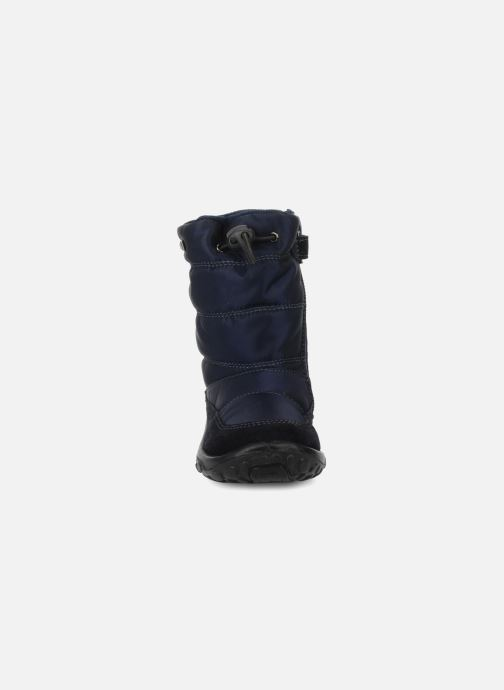 Stivali Naturino Poznurr Azzurro modello indossato
