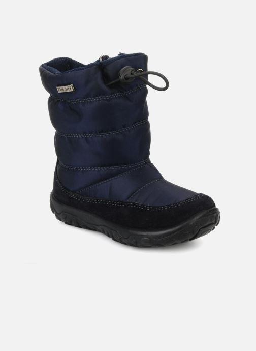 Støvler & gummistøvler Naturino Poznurr Blå detaljeret billede af skoene
