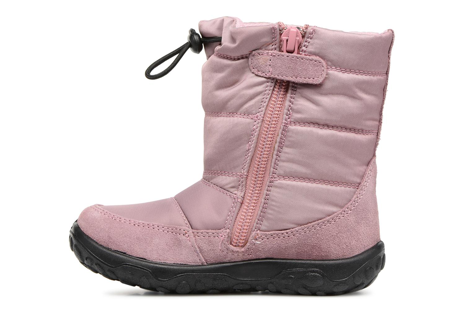 Boots & wellies Naturino Poznurr Pink front view