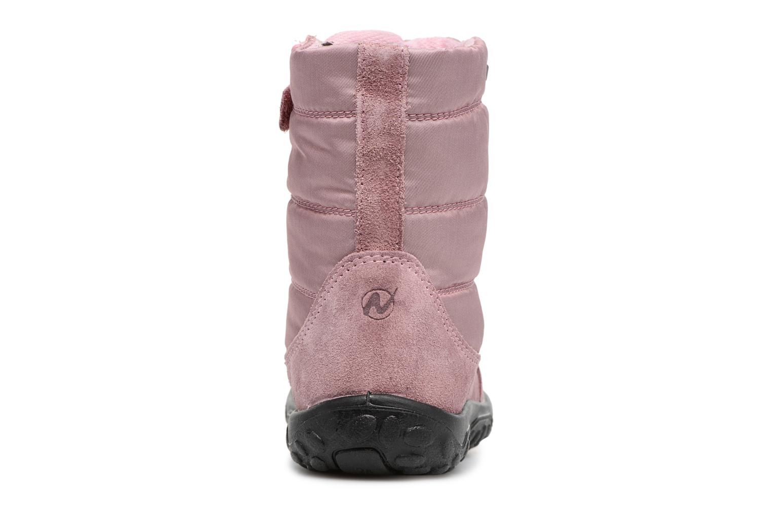 Boots & wellies Naturino Poznurr Pink view from the right