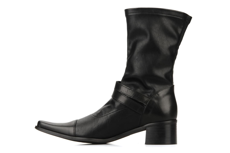 Bottines et boots JB MARTIN Bering Noir vue face