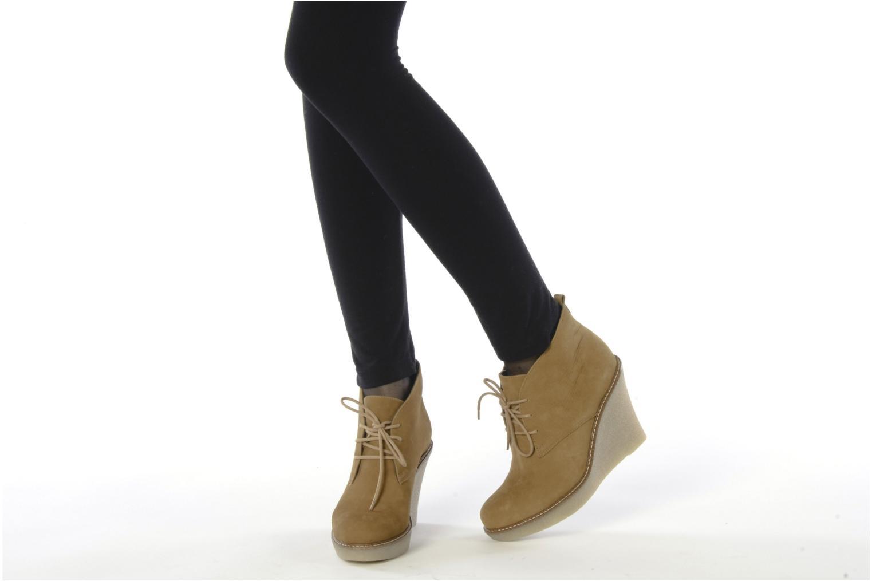 Stiefeletten & Boots JB MARTIN Louve braun ansicht von unten / tasche getragen