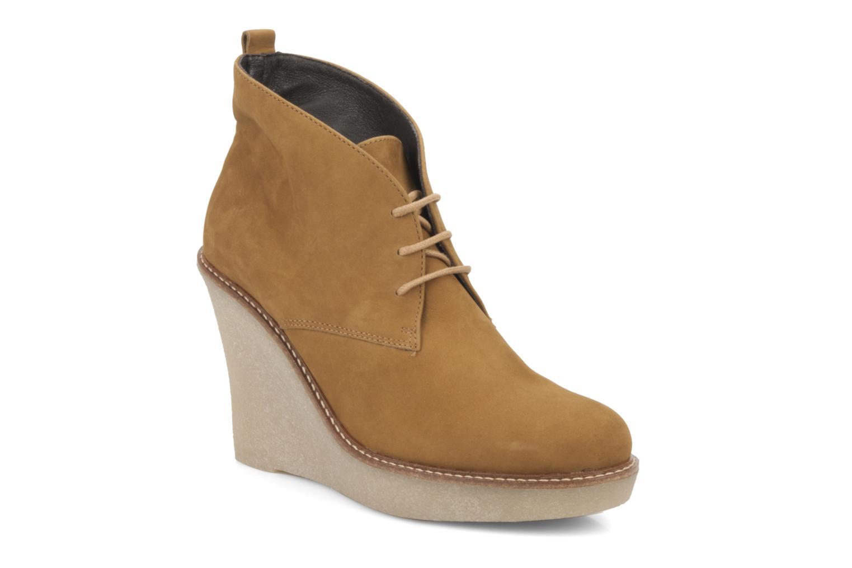 Stiefeletten & Boots JB MARTIN Louve braun detaillierte ansicht/modell