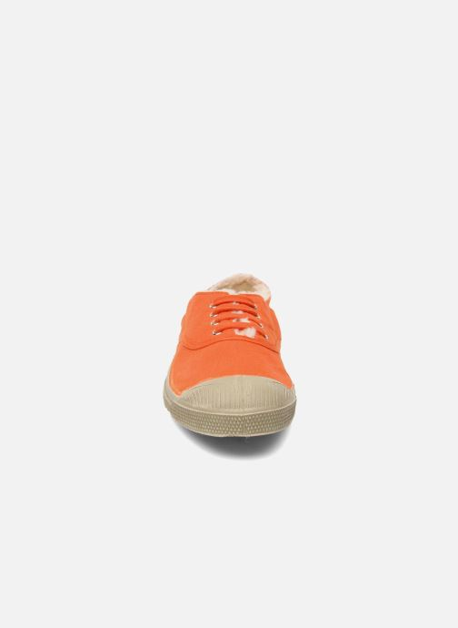 Trainers Bensimon Tennis fourrees e Orange model view