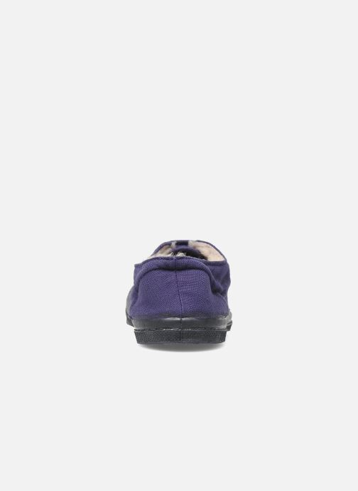 Trainers Bensimon Tennis fourrees e Purple view from the right