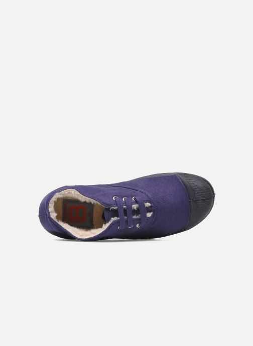 Trainers Bensimon Tennis fourrees e Purple view from the left