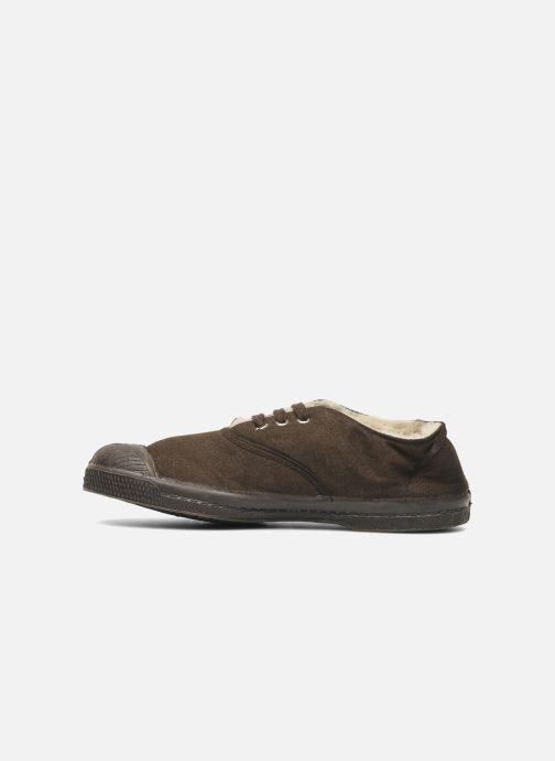 Sneaker Bensimon Tennis Fourrees E braun ansicht von vorne