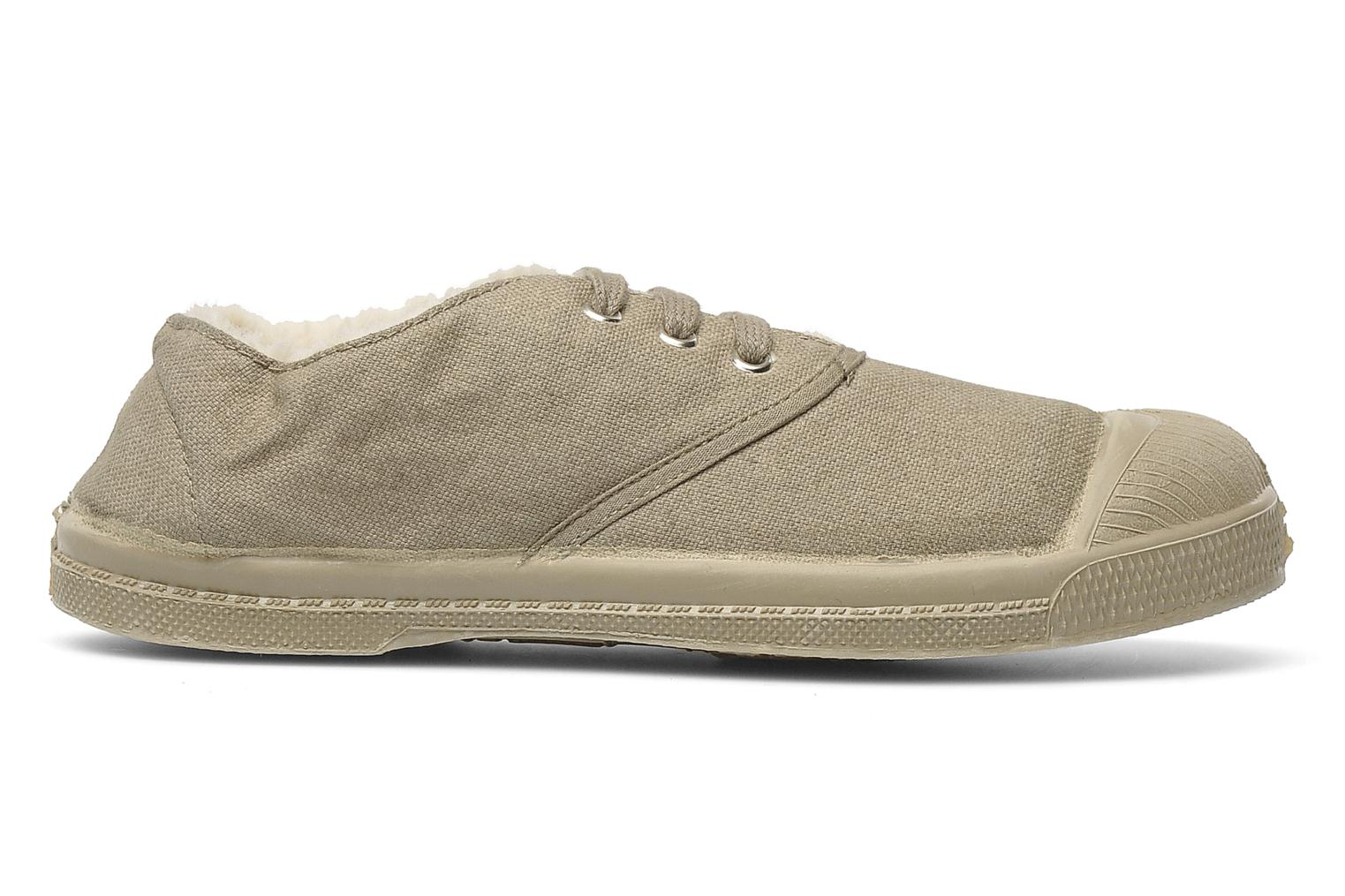 Sneakers Bensimon Tennis Fourrees E Beige achterkant