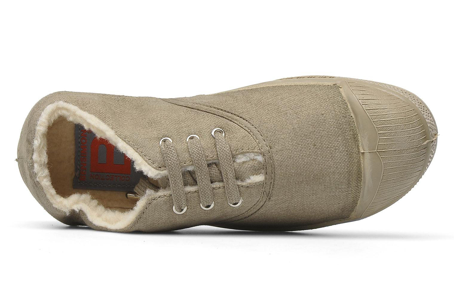 Sneakers Bensimon Tennis Fourrees E Beige links