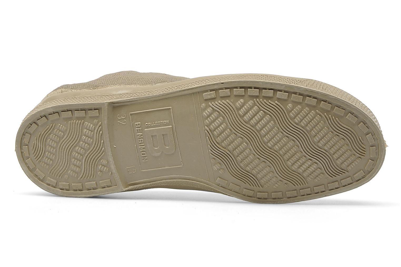 Sneakers Bensimon Tennis Fourrees E Beige bild från ovan