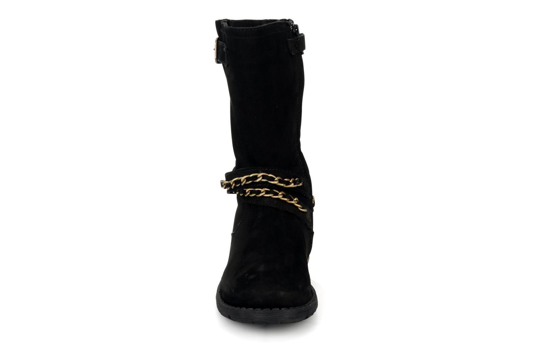 Bottes Unisa Holly Noir vue portées chaussures