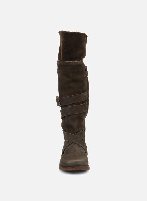 Støvler & gummistøvler Unisa Emmy Brun se skoene på