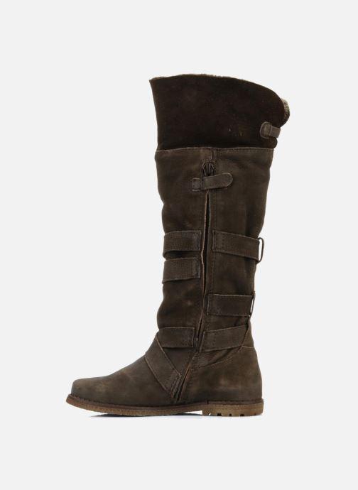 Støvler & gummistøvler Unisa Emmy Brun se forfra