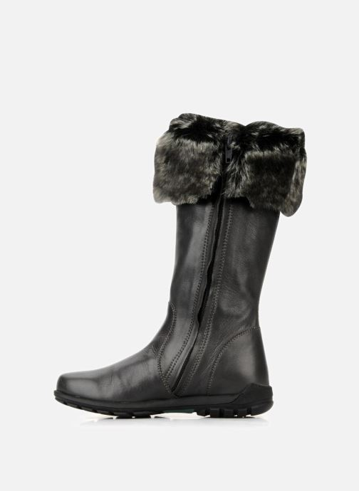 Boots & wellies Unisa Plama Black front view