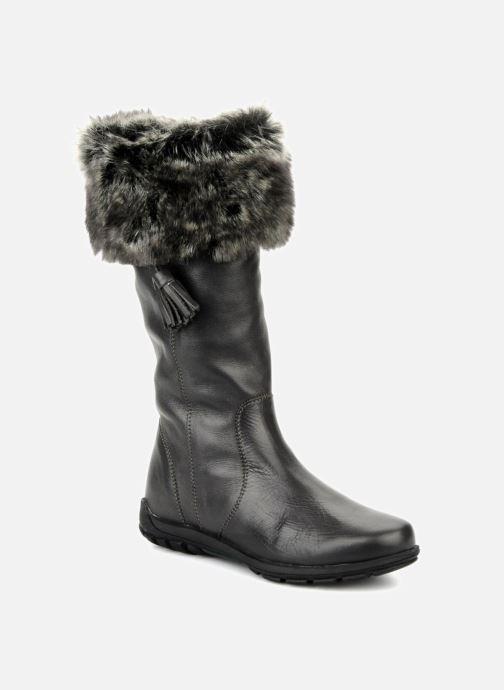 Støvler & gummistøvler Unisa Plama Sort detaljeret billede af skoene