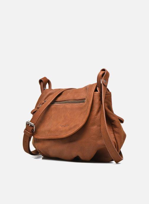 Handtaschen Nat & Nin Jen braun schuhe getragen