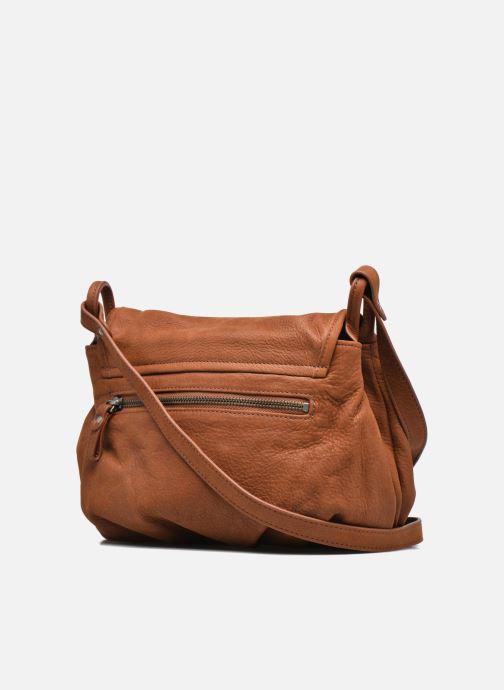 Handtaschen Nat & Nin Jen braun ansicht von rechts