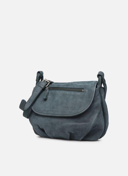 Handtaschen Nat & Nin Jen blau schuhe getragen