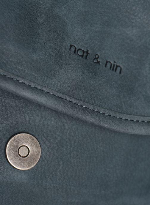 Handtaschen Nat & Nin Jen blau ansicht von links