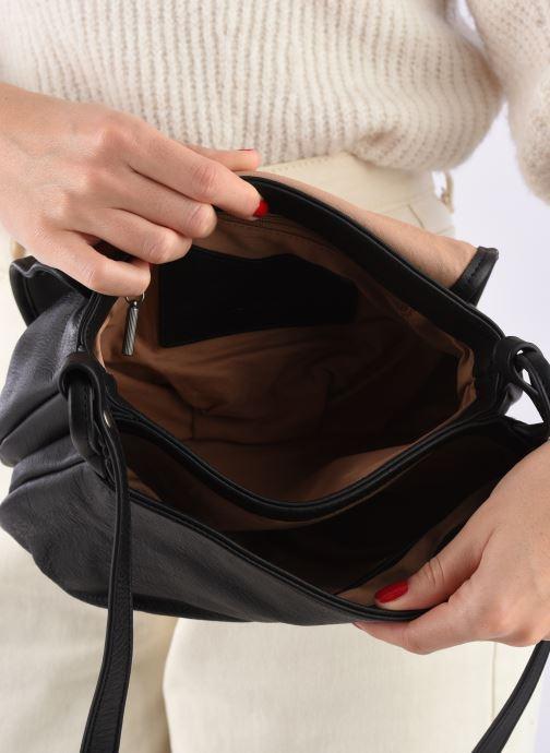 Handtaschen Nat & Nin Jen schwarz ansicht von hinten