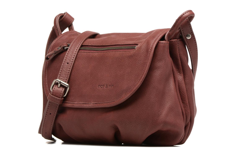 Handbags Nat & Nin Jen Burgundy model view