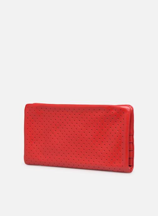 Portemonnaies & Clutches Nat & Nin Ally rot ansicht von rechts