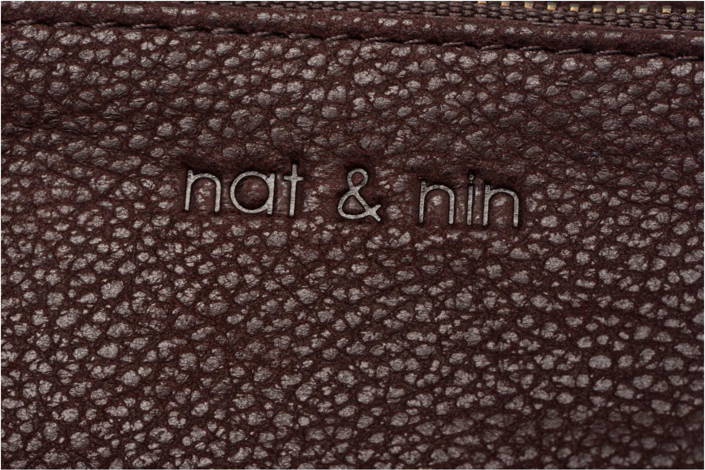 Petite Maroquinerie Nat & Nin Ally Violet vue gauche